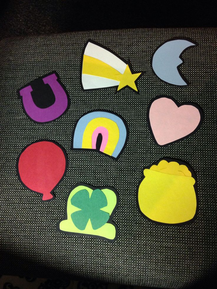Lucky charm door decs for March!