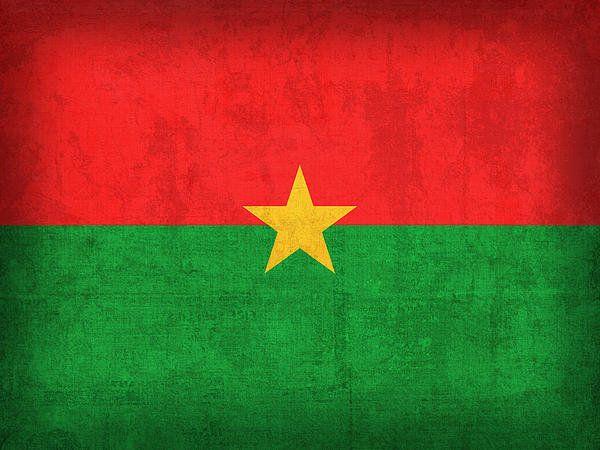 Burkina Faso Flag Vintage Distressed Finish Print By Design Turnpike