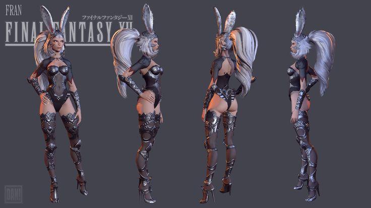 ArtStation - Fran Final Fantasy 12- Fan Art, Dan Pingston