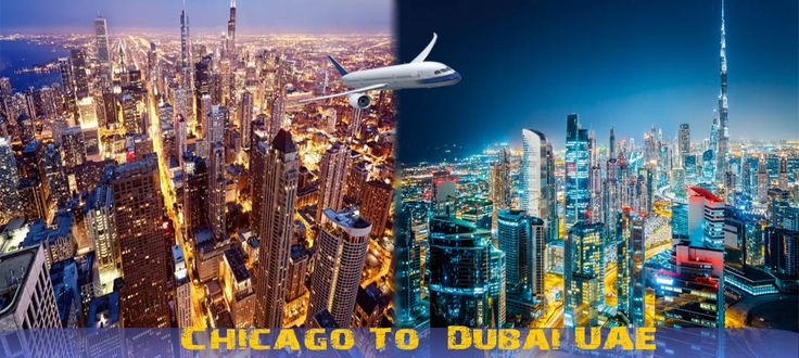 Find the cheap flights to Dubai from Chicago with no stops, direct and return flights available too, compares flights prices from over 600 airlines & agents