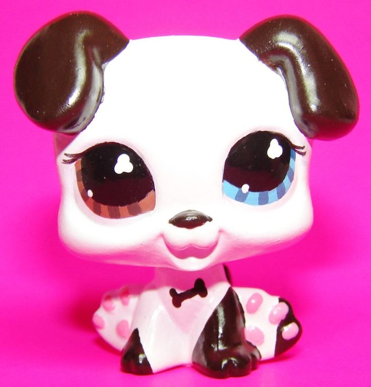 Great Dane (Tom from LPS Popular) #577 inspired dog puppy LPS custom ooak  #Hasbro