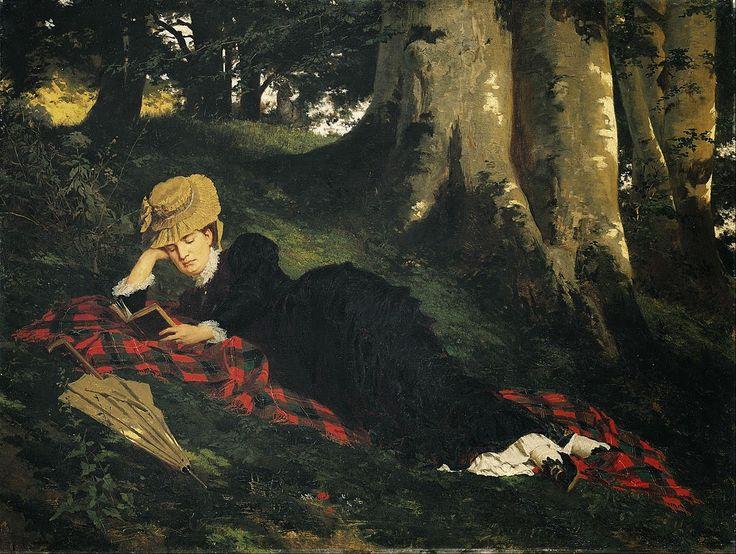 Γυναίκα διαβάζει (1885)