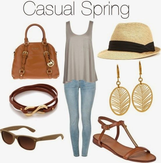 FIT.STRONG.SEXY : Casual Spring Outfits..
