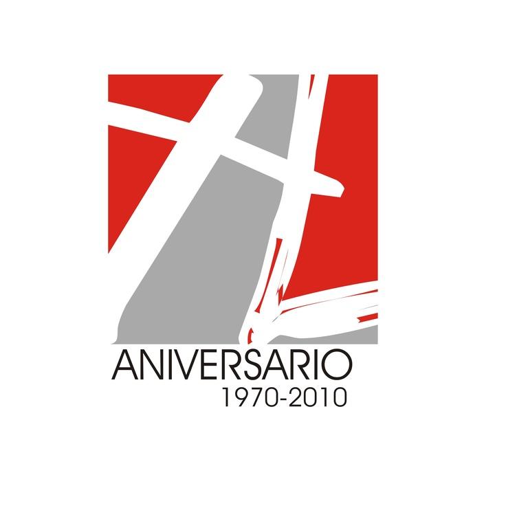 Logotipo realizado para el 40 aniversario de la parroquia tuccitana