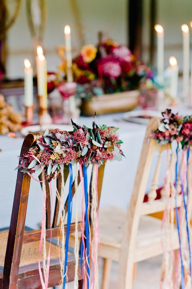 Beautiful eclectic boho wedding in Germany by Nadia Meli Photography // www.onefabday.com