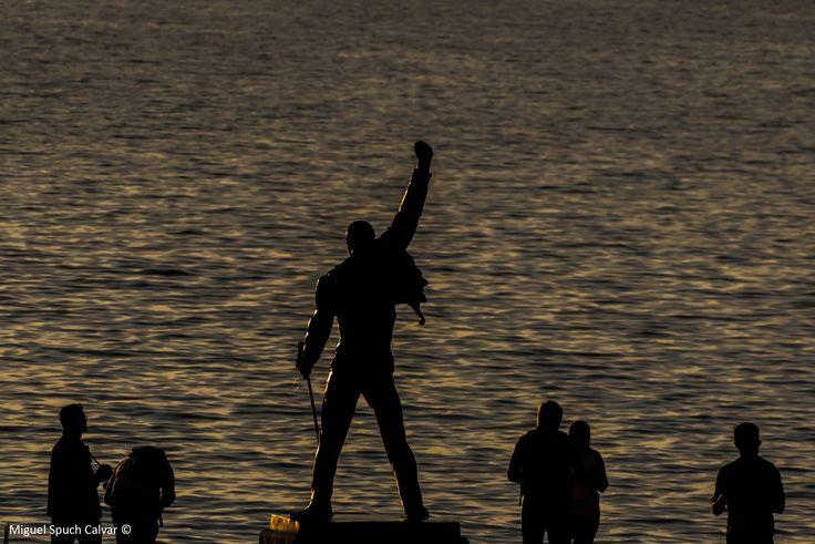 Fredy Mercury en Montreux.