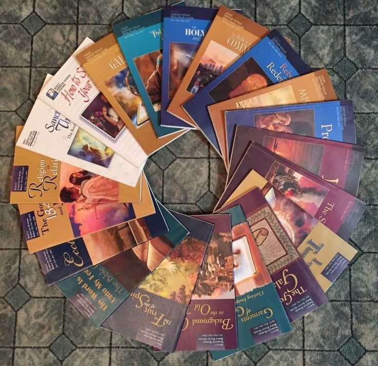 20 Adult Sabbath School Lessons Guides Studies 1996 - 2017 Christian Bible Based