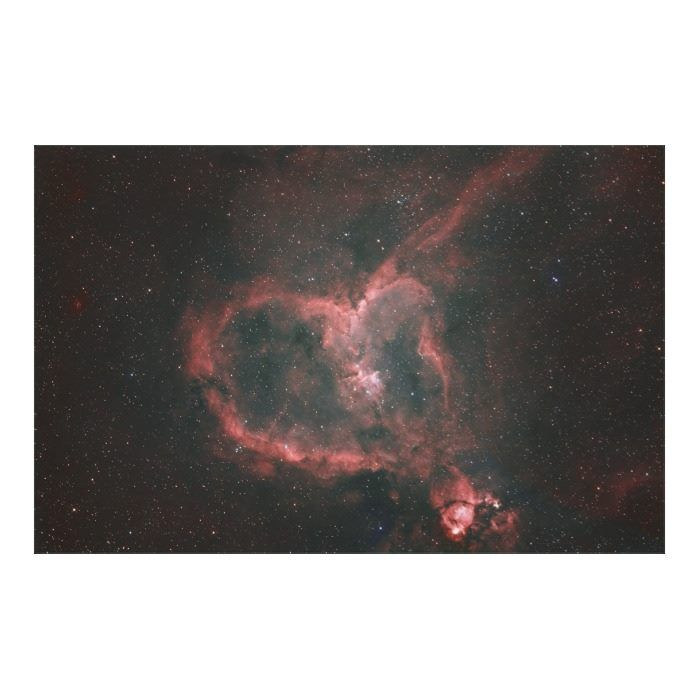 Customizable #Astronomy #Celestial#Bodies #Eternity #Heart#Shape #Infinity #Majestic #Mystery #Natural#Sciences #Natural#World #Night #Nobody #Outer#Space #Physical#Science #Red #Sciences #Shape IC1805 The Heart Nebula Canvas Print available WorldWide on http://bit.ly/2j2OC4h