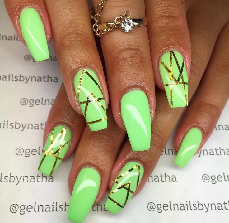 Mejores 171 imágenes de Nails en Pinterest | Diseño de uñas, Uñas ...