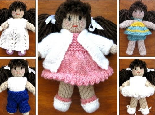 Knitting from the Heart, a website with patterns for gorgeous dolls, bears and all sorts of adorable knitted toys.