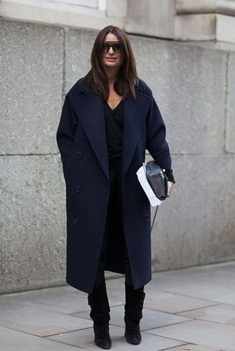 e9ea4a47d79a Модные женские пальто оверсайз-2018  фото, видео, с чем носить такие модели