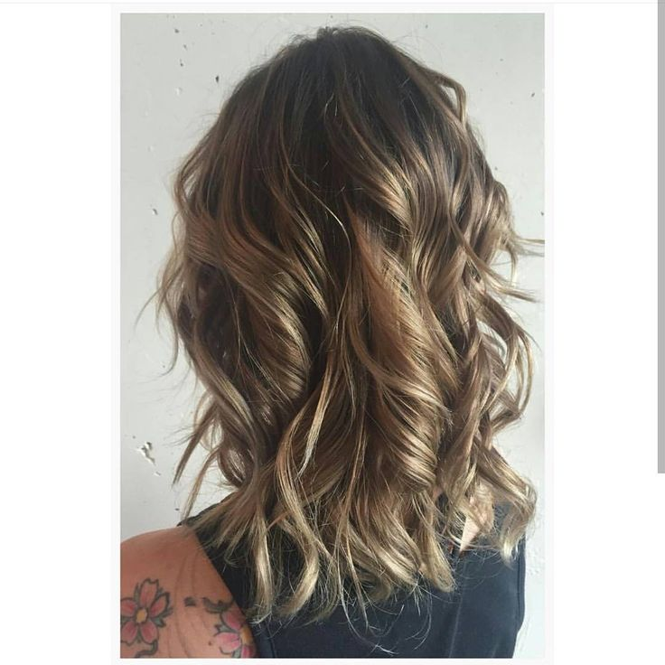 35 Best Images About Medium Length Wavy Layers On