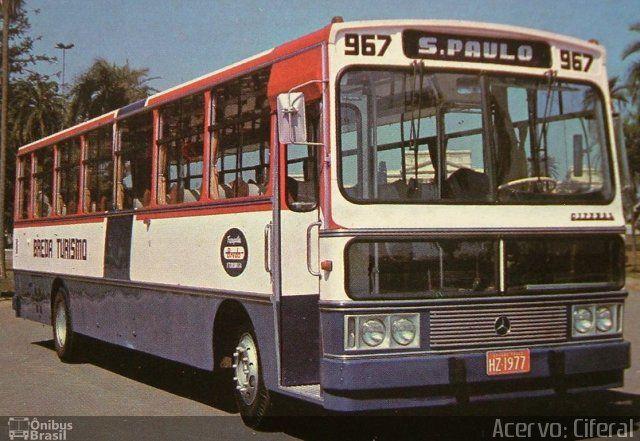 Ônibus da empresa Breda Transportes e Serviços, carro 967, carroceria Ciferal Urbano, chassi Mercedes-Benz OH-1313. Foto na cidade de São Paulo-SP por Acervo: Ciferal, publicada em 22/09/2016 11:03:11.