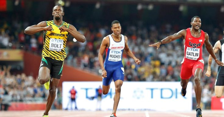 Trump should take notes-Usain Bolt retained his position as the world's dominant sprinter and was unhurt in a postrace collision with a cameraman. Allyson Felix won the women's 400.