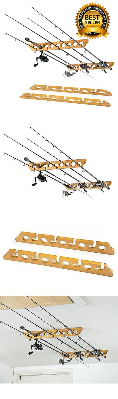 Rod Rests and Holders 72665: Pole Reel Holder Fishing Rod Ceiling Mount Rack Organizer Storage Cabin Garage -> BUY IT NOW ONLY: $48.12 on eBay!