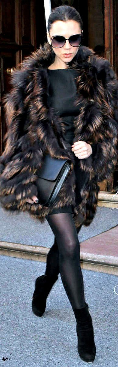 street style victoria beckham winter fashion pinterest. Black Bedroom Furniture Sets. Home Design Ideas