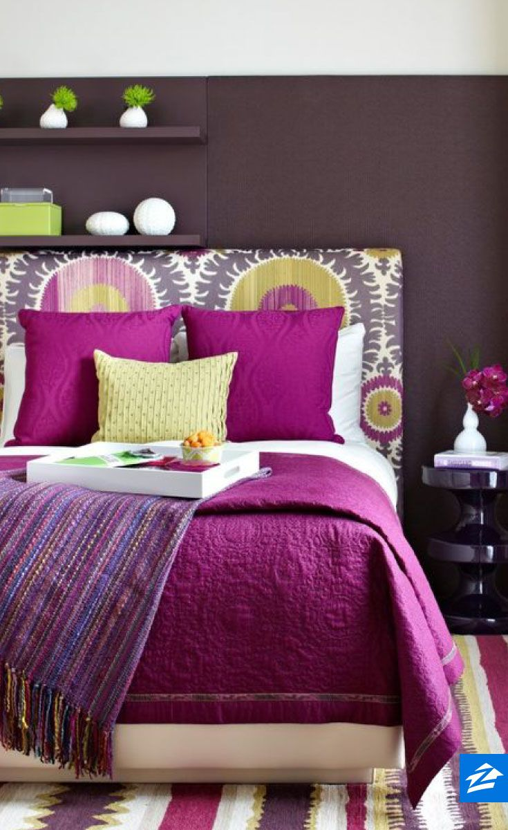Itu0027s Impossible Not To Wake Up Cheerful In This Colorful Bedroom!