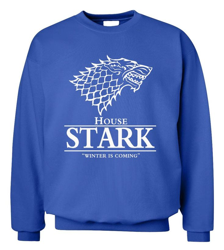 Game of Thrones Winter Is Coming Sweatshirt, ECA Listing By Nina's Store, Serbia