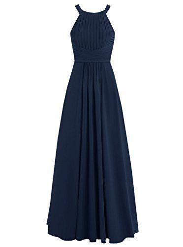 Dresstells® Long Chiffon Halter Neck Prom Dress with Straps Bridesmaid Dress Dresstells http://www.amazon.co.uk/dp/B019DFNTNW/ref=cm_sw_r_pi_dp_8Yr6wb1E93WBB