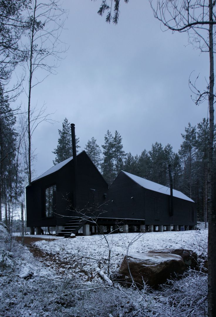 "Completed in 2017 in Savitaipale, Finland. ""The Finnish affinity with nature demands a counterbalance to the everyday apartment: the summer cottage or Mökki. It is quite true to say the..."