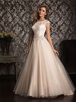 Bridal Gowns Allure  9022 Bridal Gown Image 1