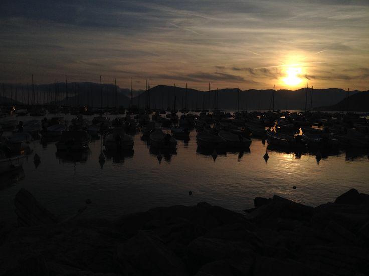 Lerici al tramonto 26 aprile 2014
