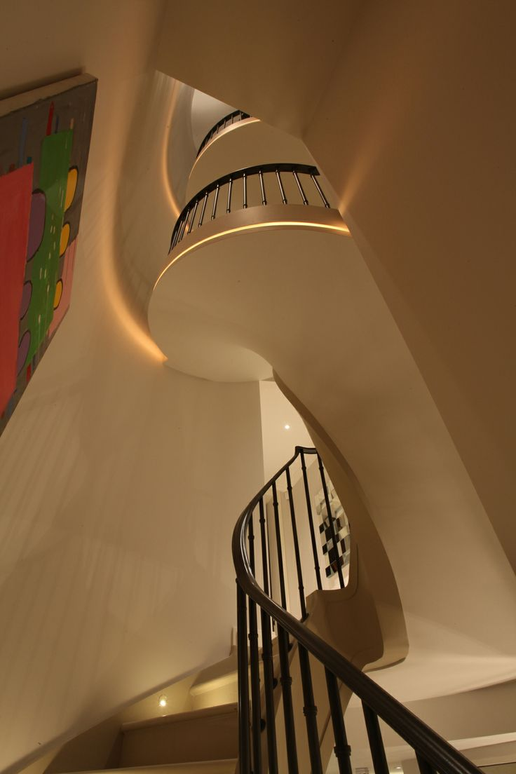 Lighting Basement Washroom Stairs: 100+ Best Corridors & Stairs Lighting Images By John