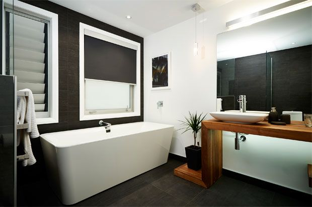 Check out the Freedom Furniture products Maree and James used in their bathroom.