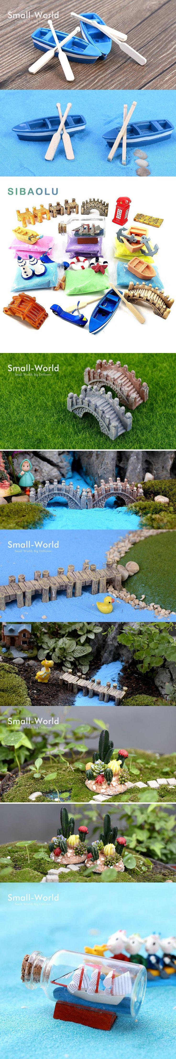Micro landscape Magic Sand bonsai Miniature Figurine fairy garden Aquarium fish tank animal statue home decoration accessories