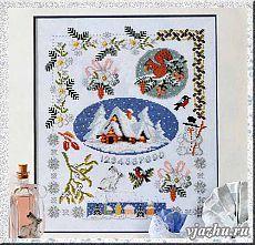 Волшебные палочки-вязание и вышивка - Статьи: Вышивка крестом Новогодние мотивы