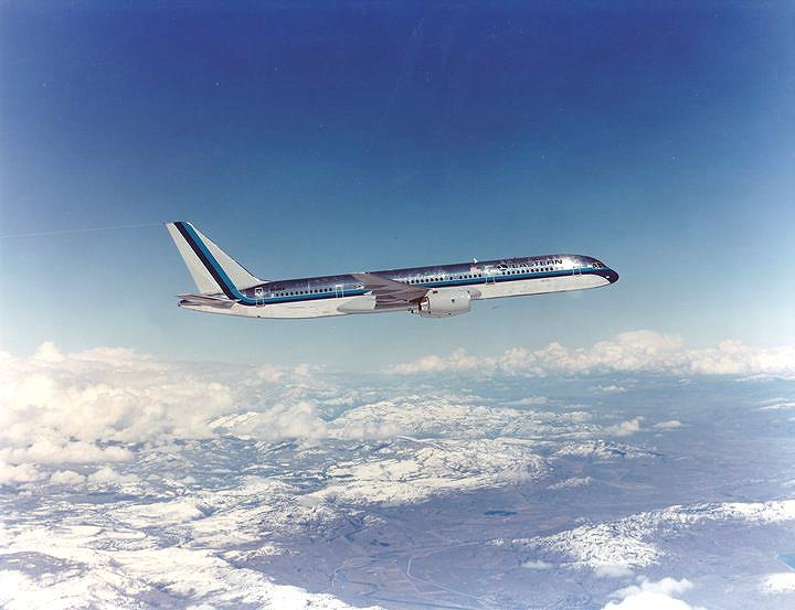 Eastern Air Lines Boeing 757-225 in a promotional image from the 1980s. (Image: Boeing/Eastern Air Lines)