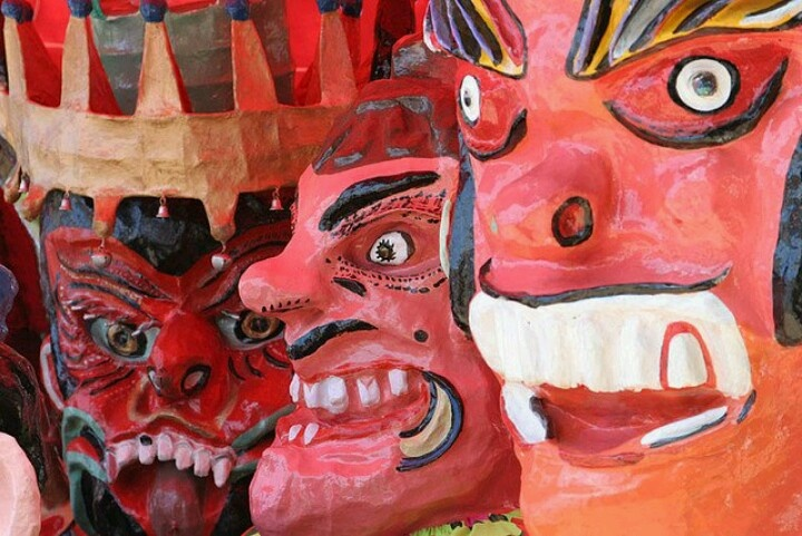 Mascaradas, Tradiciones, Costa Rica