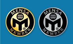 Mensa  Member Pin