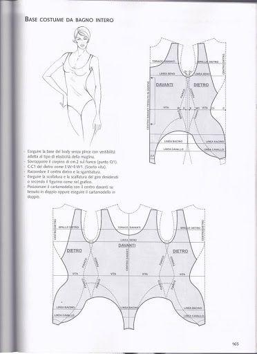 Base costume da bagno intero. - baby doll lingerie, red lingerie, maternity lingerie *ad
