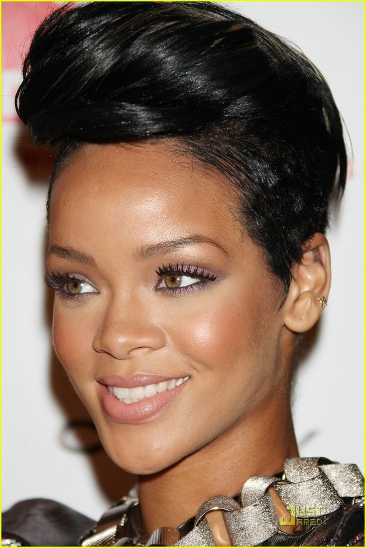 1000 Ides Sur Le Thme Rihanna Cabello Corto Sur Pinterest