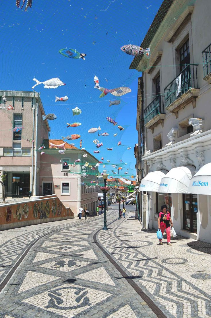 Rua de Coimbra in Aveiro, Portugal   heneedsfood.com