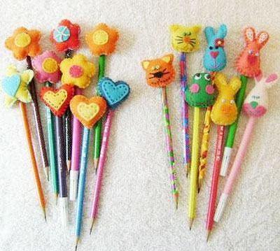 Colorê : Ponteira de lápis em feltro
