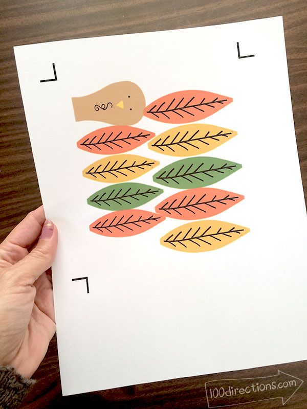 Pinecone Turkey Craft and Free Printable