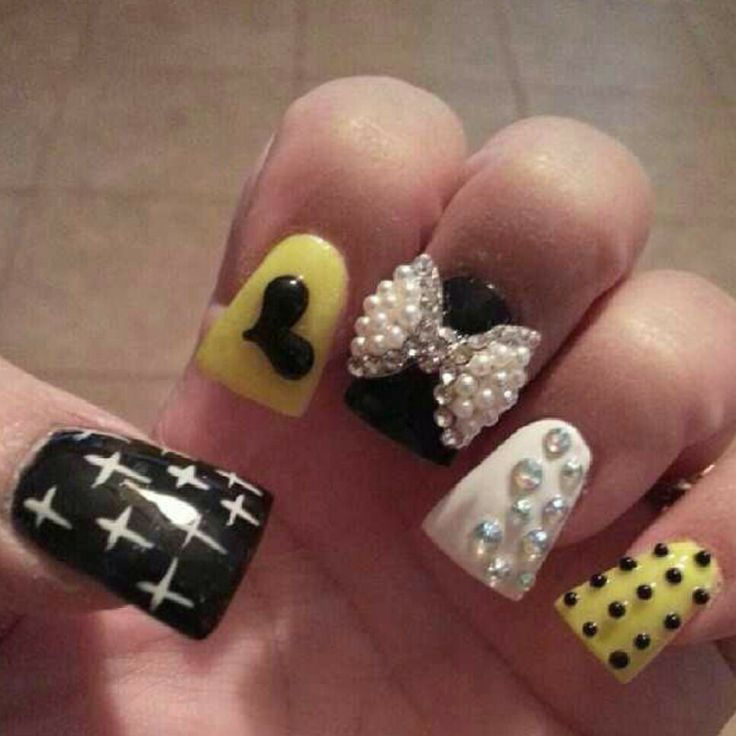 Duck tip nails