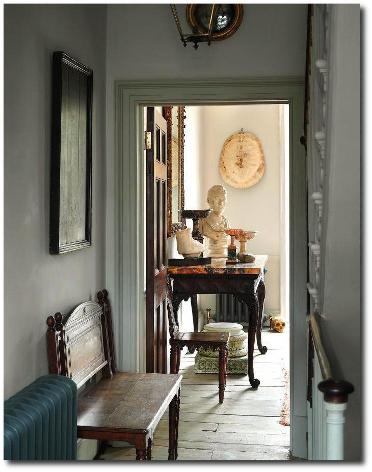 via At Home with Londonu0027s Antiques Whisperer