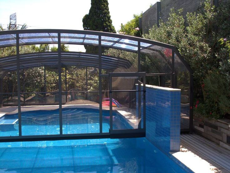 1000 ideas about pool enclosures on pinterest pool - Retractable swimming pool enclosures ...