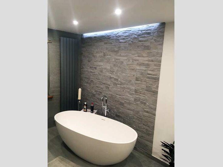 Freistehende Badewanne Piemont Medio  Badezimmer Ideen! Badezimmer mit der freis…  # Badezimmer Ideen – Kundenbäder