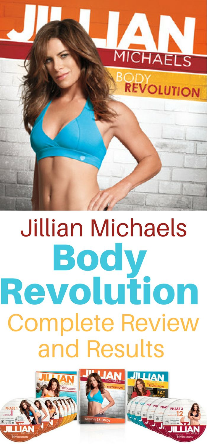 Everything You Ever Wanted to Know About Jillian Michaels Body Revolution At-Home, No Gym Required Fitness and Weight Loss System. Complete Program Overview, Review, and Results. Plus before and after weight, measurements, and pictures.