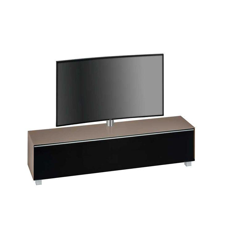 Fernsehmöbel mit TV Halterung Beige Schwarz Jetzt bestellen unter: https://moebel.ladendirekt.de/wohnzimmer/tv-hifi-moebel/tv-halterungen/?uid=a6435415-6add-52d0-8cf7-fbe6a7ac4d50&utm_source=pinterest&utm_medium=pin&utm_campaign=boards #fernsehboard #tvhalterungen #fernsehmöbel #rack #phonoschrank #tvboard #fernsehunterschrank #tische #tvhifimoebel #lowboard #fernsehtisch #unterschrank #möbel #phonomöbel #bank #fernseher #tvtische #fernseh #sideboard #wohnzimmer #kommode #board