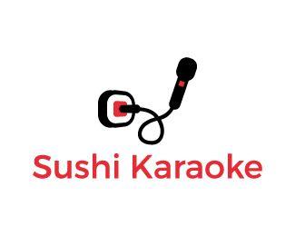 Logo Design - Sushi Karaoke