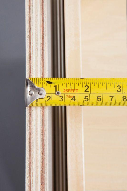 Todos los gabinetes de cocina de madera, gris Coctelera Abedul las puertas del gabinete