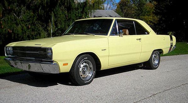 Wish was 1969 dodge dart swinger yellow best video