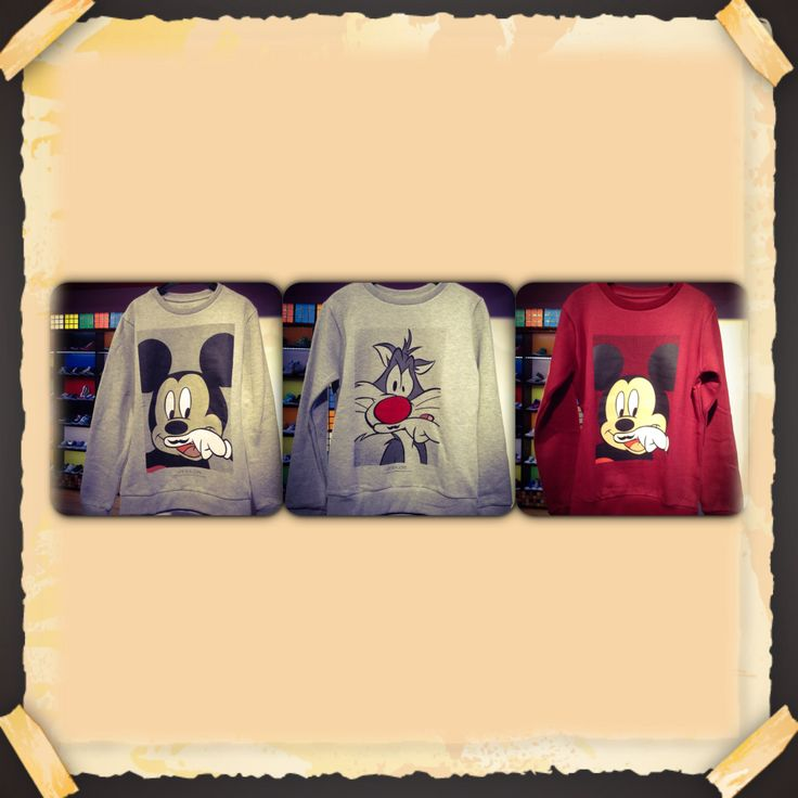 Great sweat Mickey and Sylvest :) for children