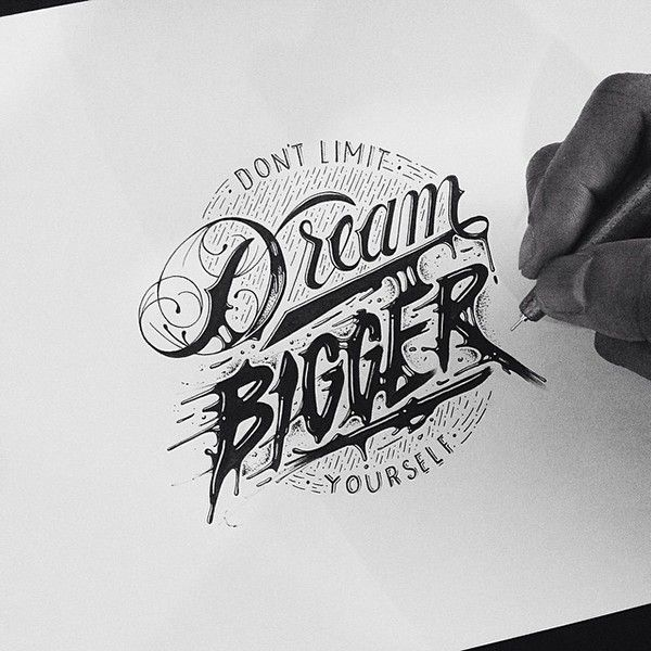 Typography Sketches
