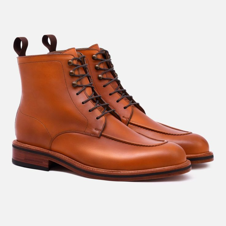Gallagher Boot - Calfskin Leather - Tan